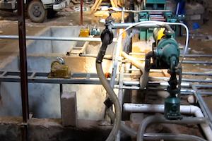 underground pulp pools